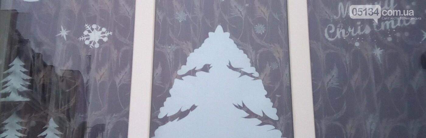 Вознесенськ прикрашається до новорічних свят: одна з шкіл міста дарує місцянам зимову казку, фото-2