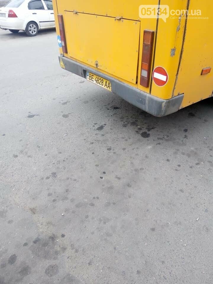 Перевізник у Вознесенську випустив на маршрут транспорт в жахливому стані, фото-4