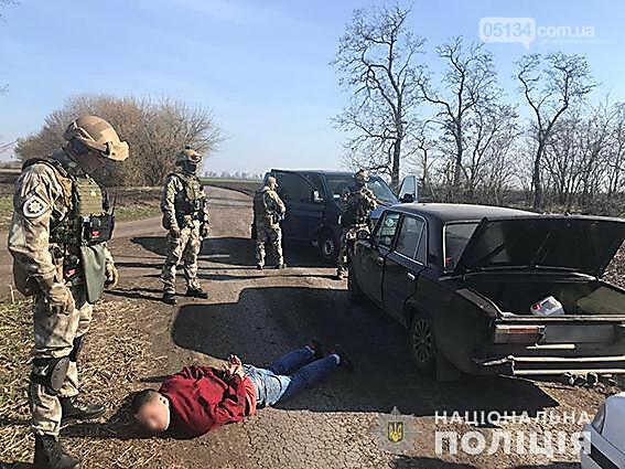 У Вознесенську в ході спецоперації затримано группу наркодилерів, фото-1