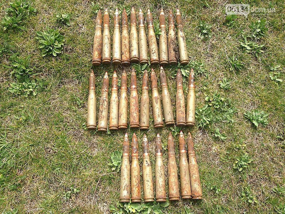 У смт. Доманівка селяни випадково знайшли майже три десятки снарядів Другої Світової, фото-1