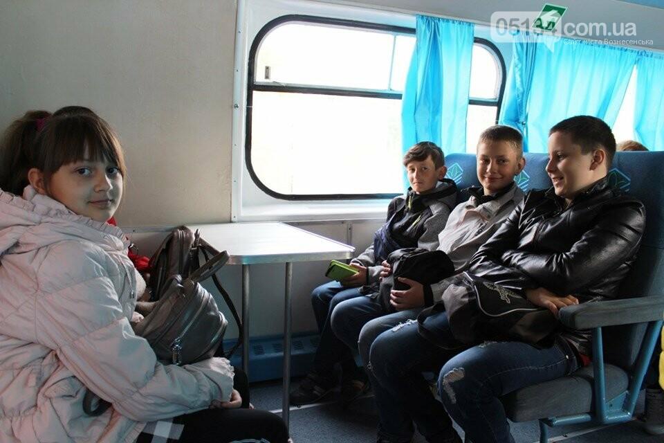 """Мер Вознесенська організував безкоштовну поїздку на """"Ракеті"""" для дітей та спортсменів, фото-2"""