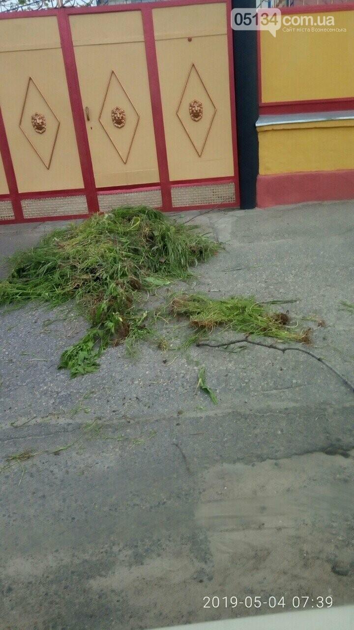 Вознесенські комунальники повертають несортоване сміття їх власникам, фото-3