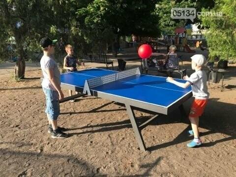 У Вознесенських парках встановили тенісні столи: грати можна всім, - ФОТО, фото-3