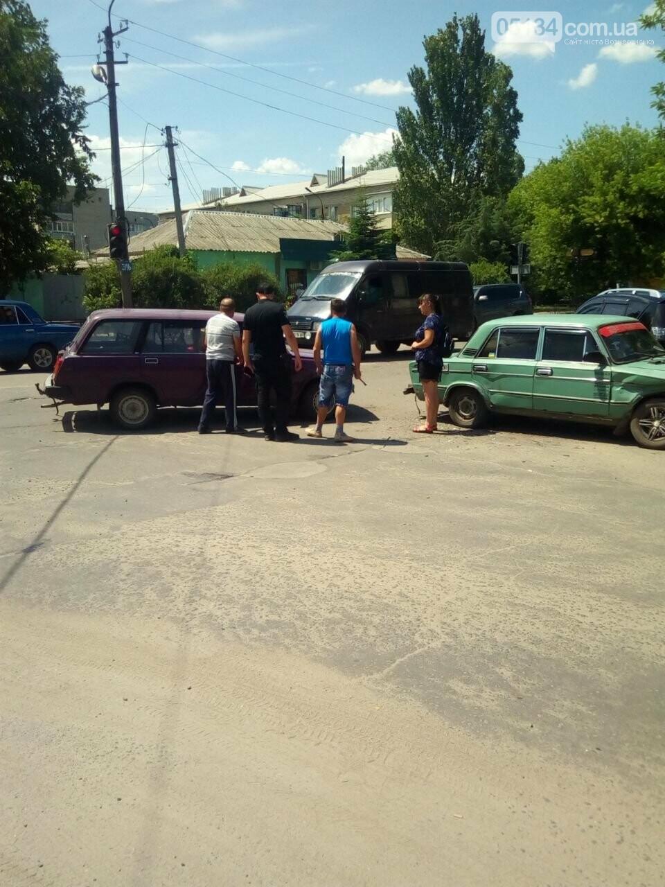 ДТП в центрі Вознесенська - водії не поділили перехрестя, - ФОТО, фото-1