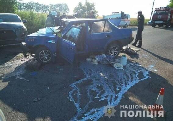 В Южноукраїнську в ДТП загинула пасажирка, - ФОТО, фото-1
