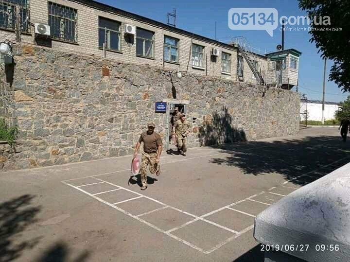 У Вознесенській виправній колонії проведено тренування особового складу, - ФОТО, фото-3