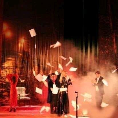 Ольга Сумська у Вознесенську - у головній ролі на сцені Будинку культури, фото-3
