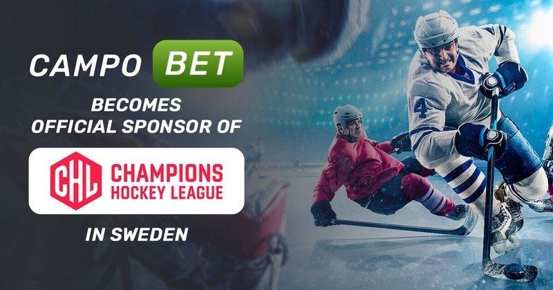 Хоккейная лига чемпионов в Швеции: спонсором стал оператор брокерских контор CampoBet